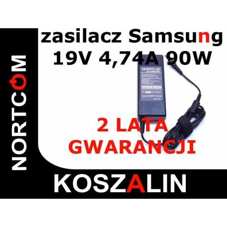 ZASILACZ ŁADOWARKA DO LAPTOPÓW SAMSUNG 19V 4.74A 90W NORTCOM