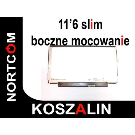 """Nowa Matryca 11.6"""" N116BGE-L41 Boczne Mocowanie GLOSSY"""