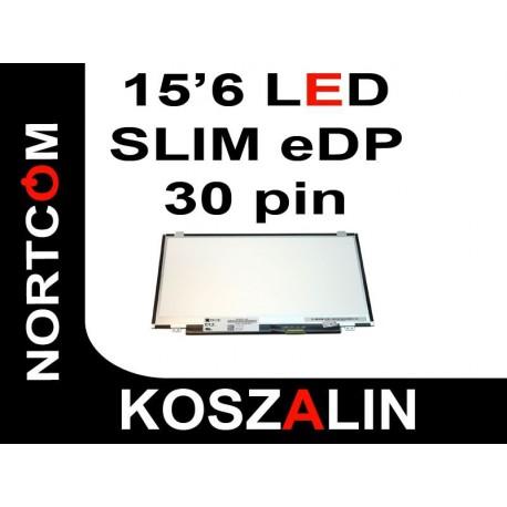 "Matryca LED 15,6""SLIM N156WHM-N12 30 PIN eDP"